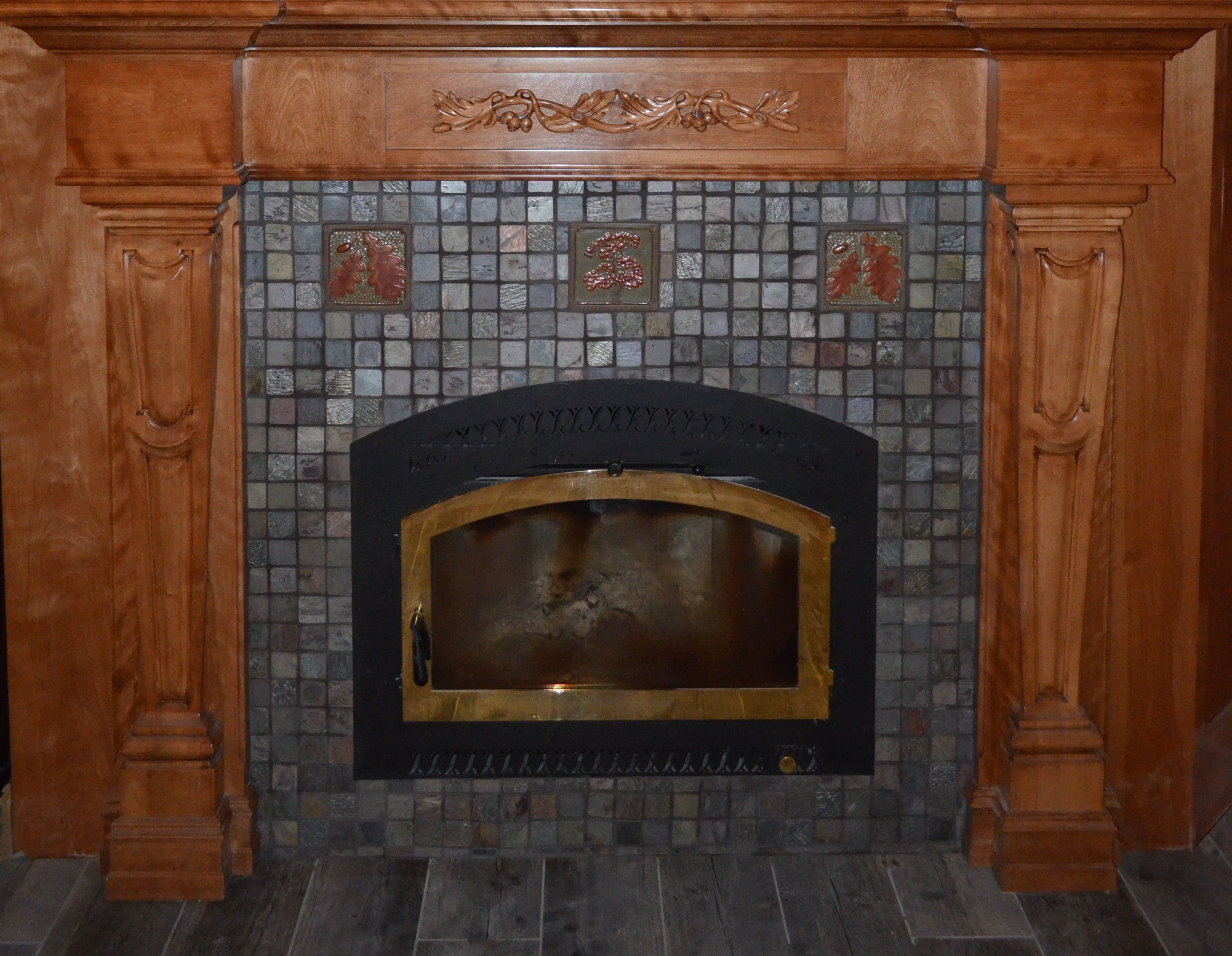 surround cottages pebble white tan fireplace java and for pin tiles tile hearth beach