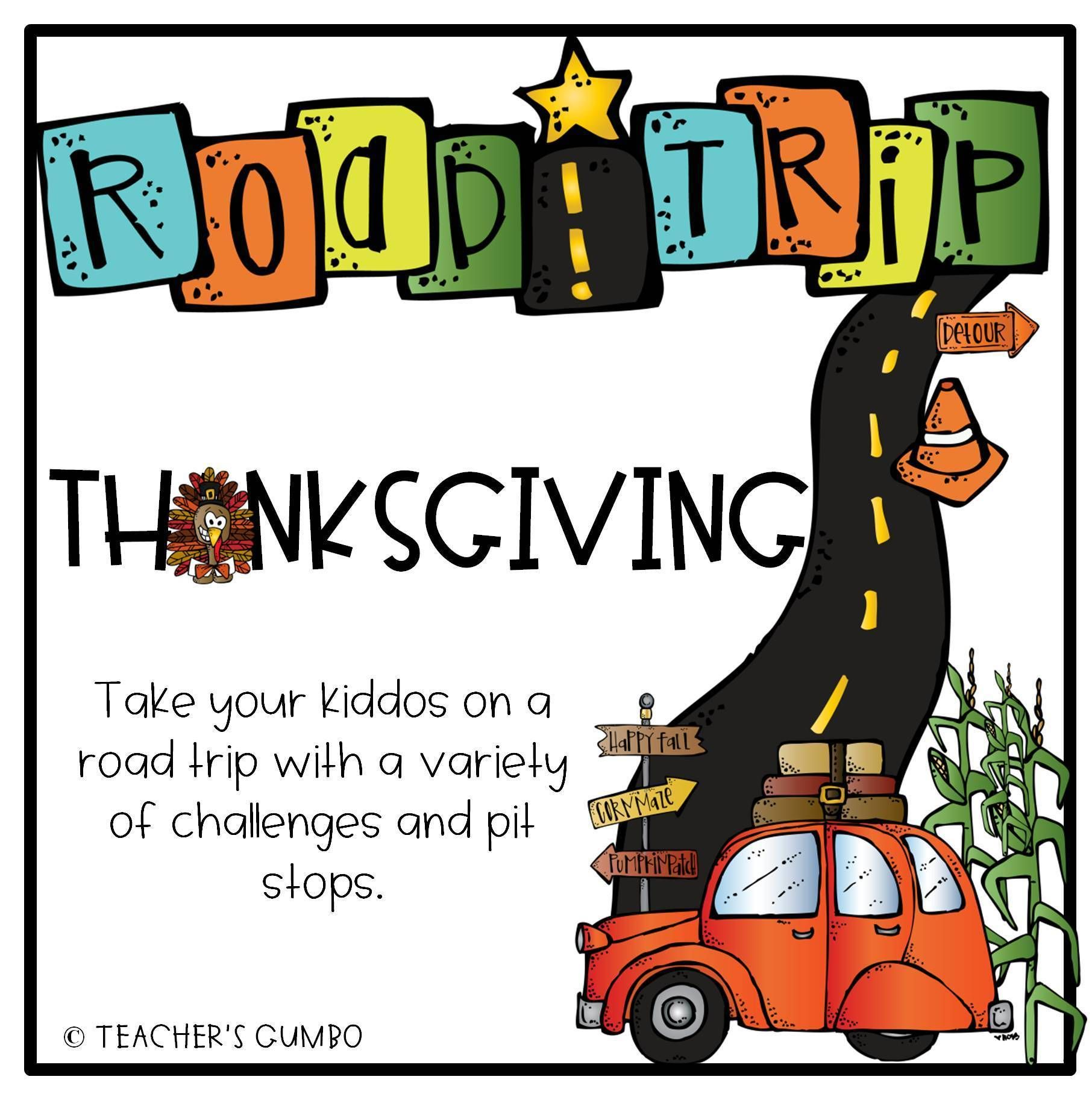 Take A Thanksgiving Learning Road Trip With This