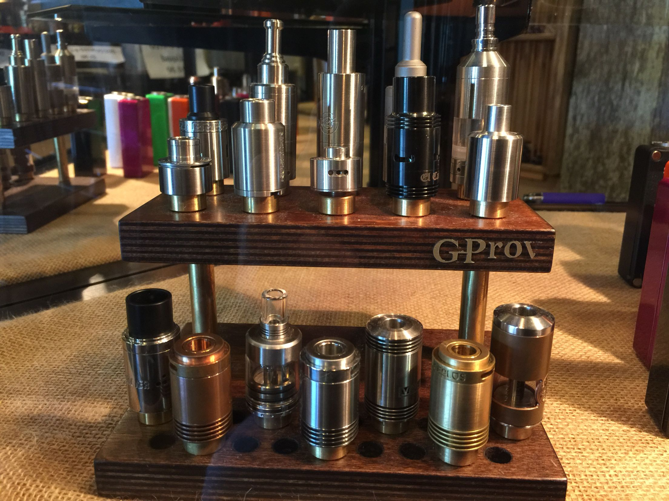 AUTHENTIC RDA'S!   Whether you are looking for Genny style, top air flow, rebuildable tanks, flavor atty's or the latest and greatest, you have found quality and only at...  Knoxville's & Sevier's Finest!  #knoxvillevapor #knoxvillevaporpigeonforge #knoxvillesfinest #seviersfinest #authentic