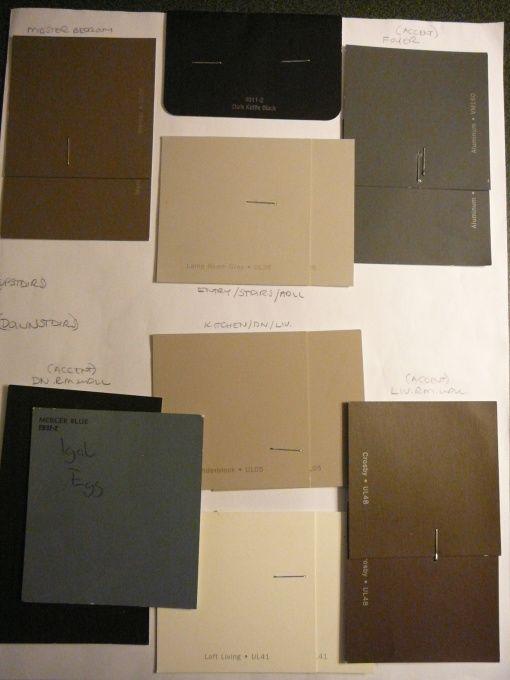 TOP LEFT: RALPH LAUREN / URBAN LOFT Paint Collection (at ...