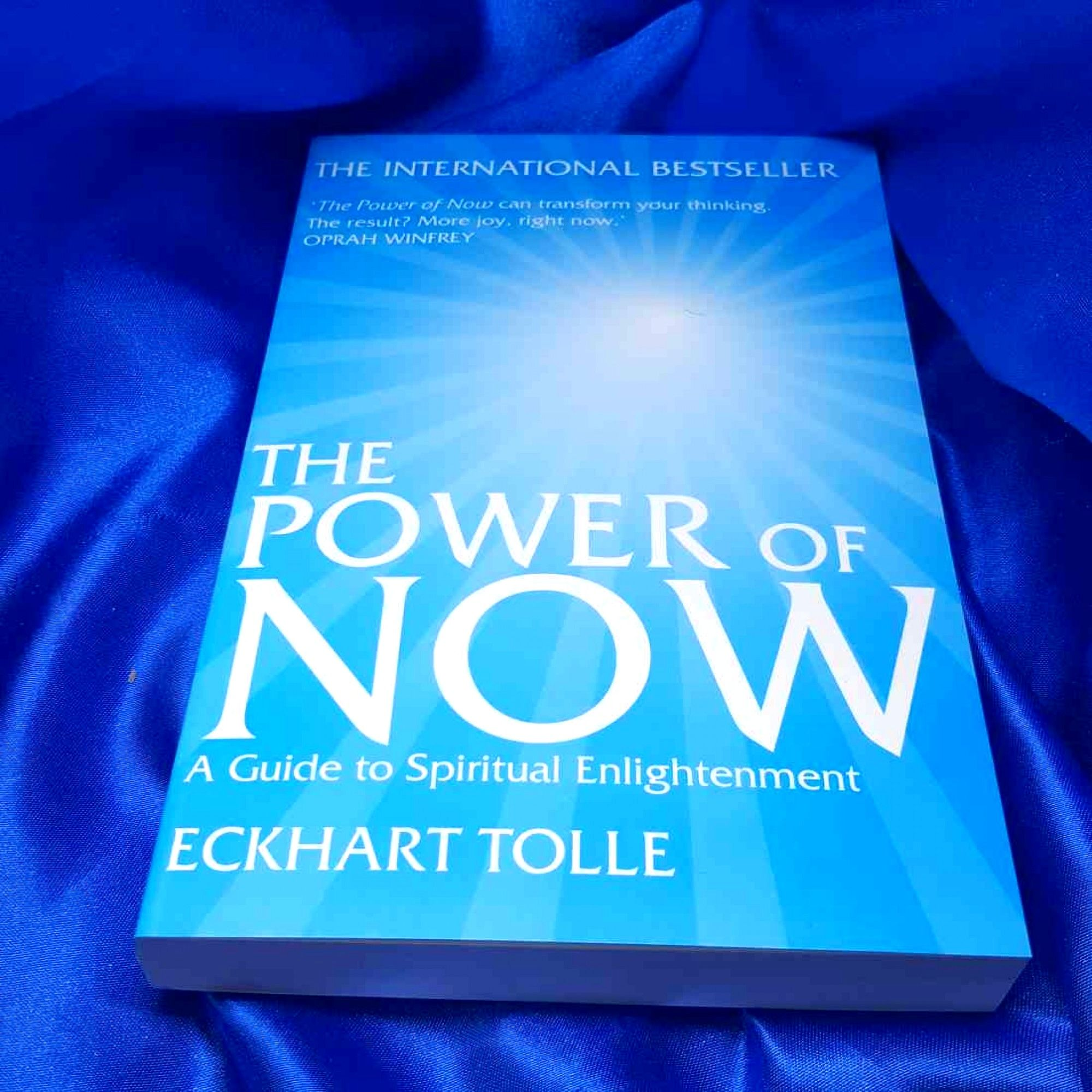 The Power of Now: by Eckhart Tolle (With images) | Best self help ...