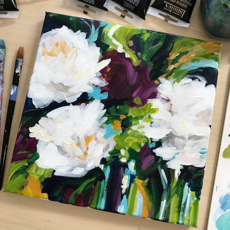 Flower Painting Classes Online Learn How To Paint Abstract
