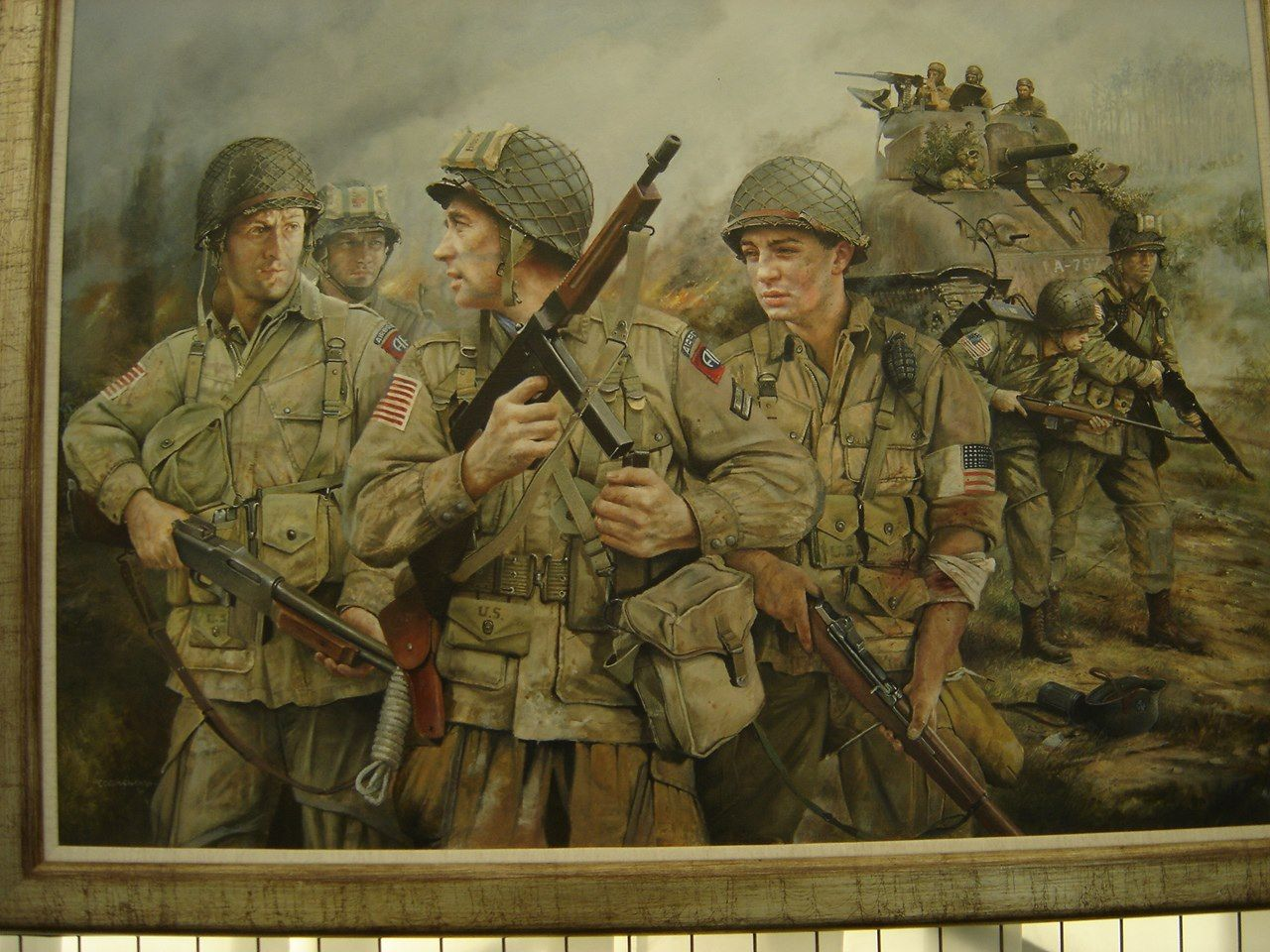 Pin By W T On Dday Military Art Military Artwork Military Poster