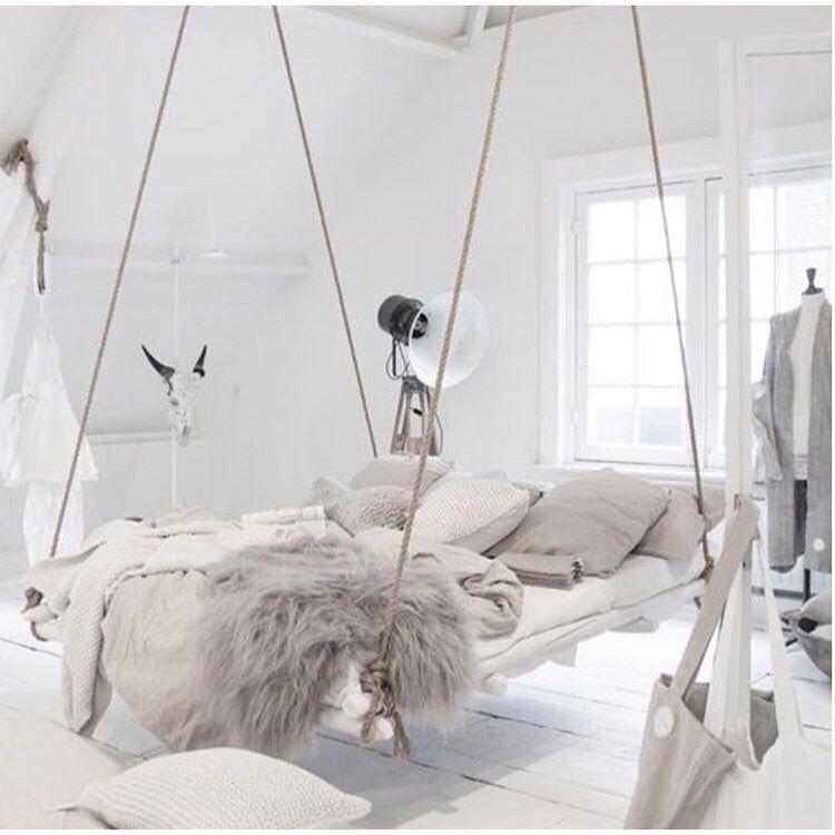 Swing Bed Bedroom Diy Bed Design Home