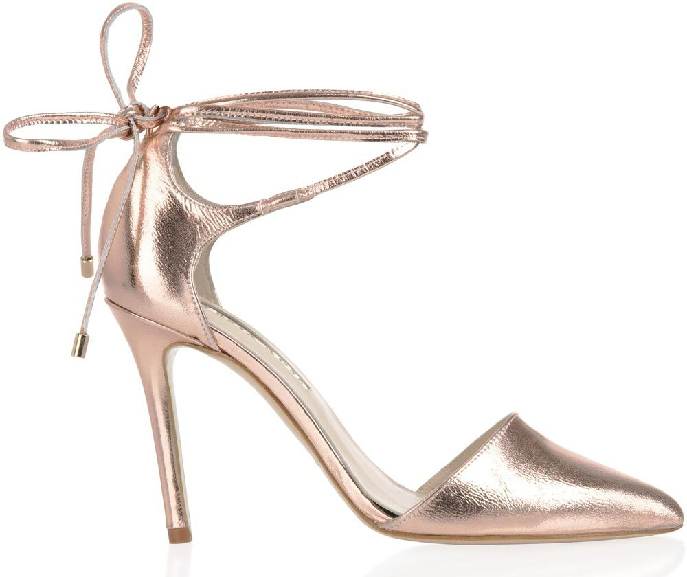 c0107c4d5d7 Fans of rose gold will fall in love with these elegant Freya Rose beauties  – the barely-there strap detail will make your legs look longer.