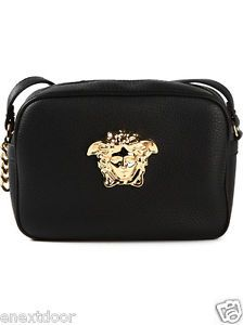 4a813b01c4 Details about VERSACE Palazzo Medusa Crossbody Bag  975 NWT