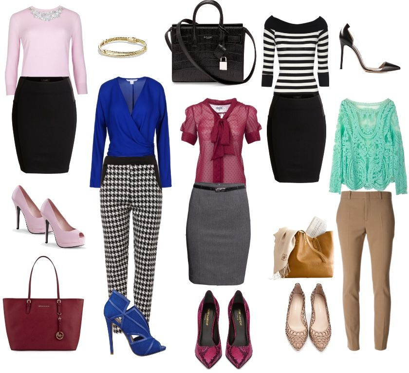 Looks de oficina para estos días primaverales #outfit