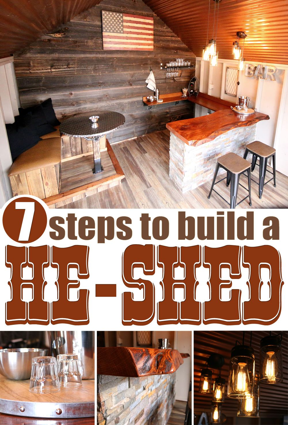 7 Steps to Building a He Shed