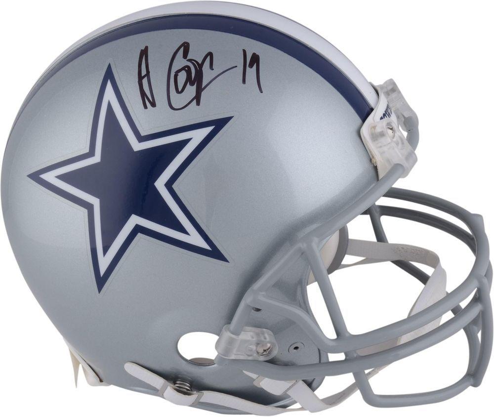 76ef53622 Amari Cooper Dallas Cowboys Autographed Riddell Pro-Line Authentic Helmet