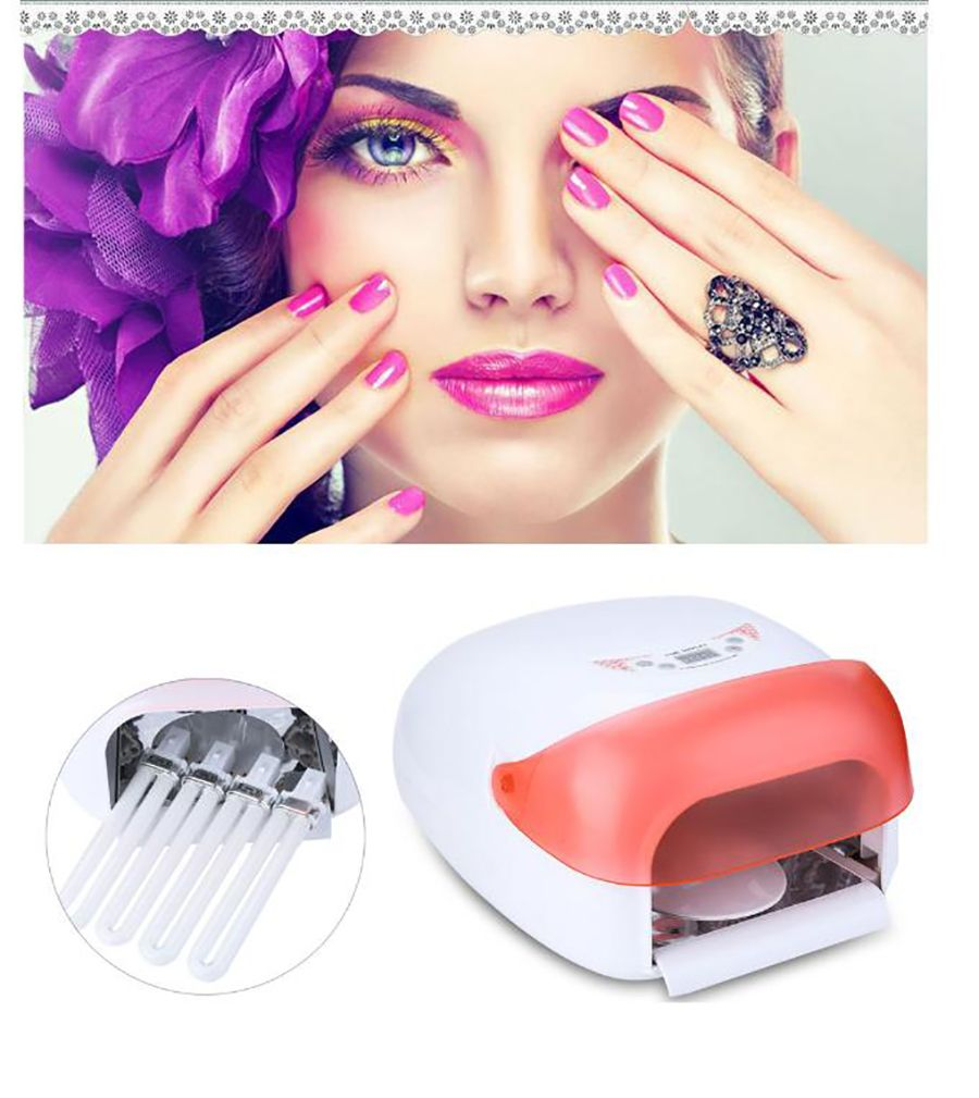 Pro 36W UV Phototherapy Nail Gel Lamp Nail Polish Dryer Heater Built ...