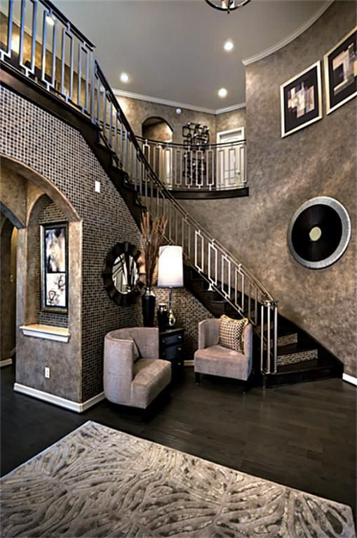 Gorgeous foyer winding staircase double staircases foyers nice also vastu for in clems home house design rh pinterest