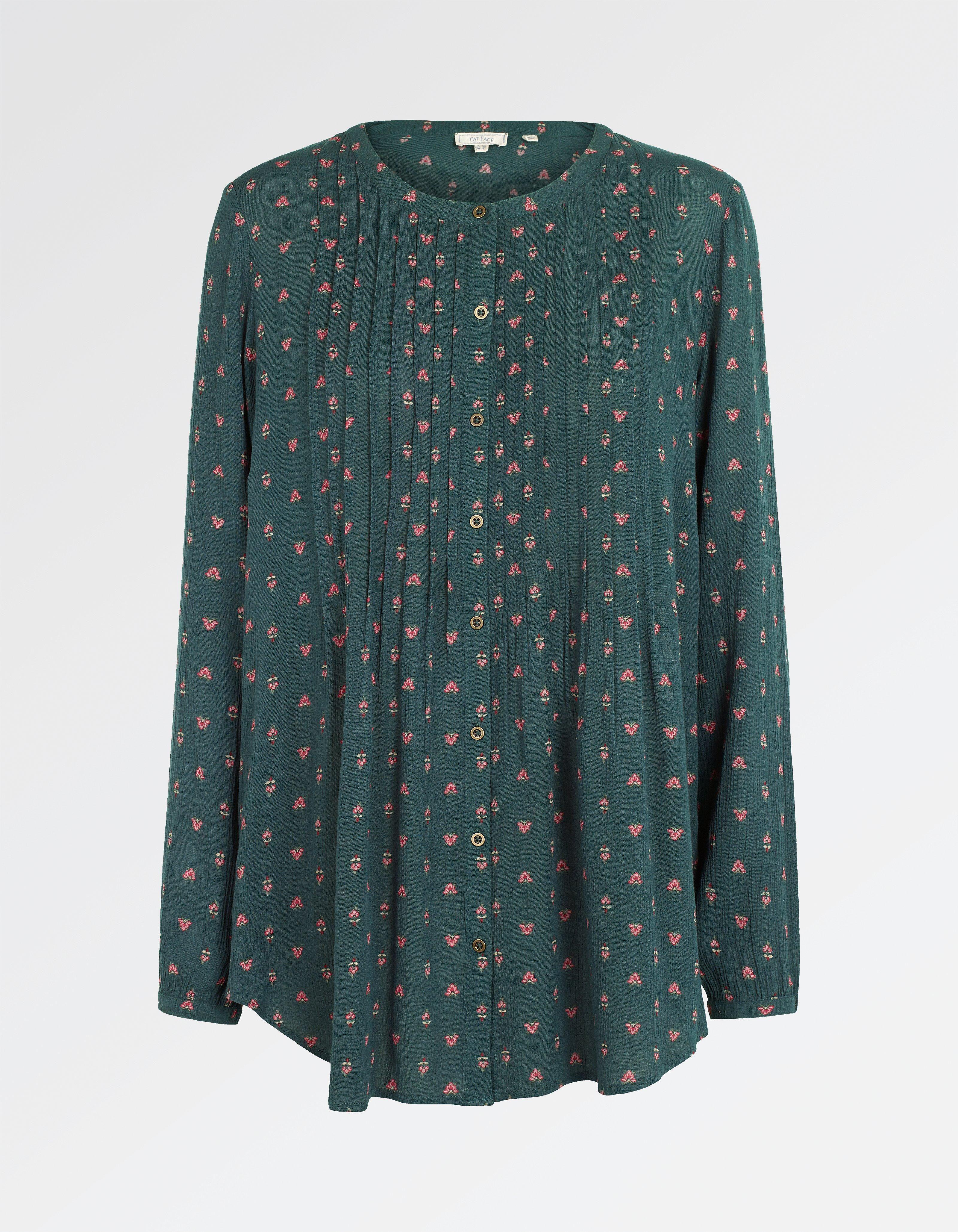 Evie Opulent Paisley Longline Shirt | favorites | Long a