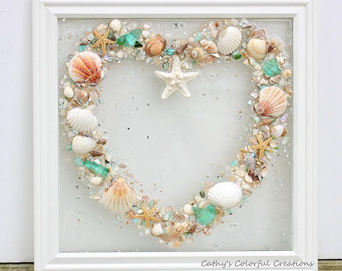 Photo of Resin Art, Beach Lover Gift, Shell Gift, Beach Gift, Home Decor, Coastal Decor, Sun Catcher, Beach Theme, Resin, Shell Art, CShellsBeachArt