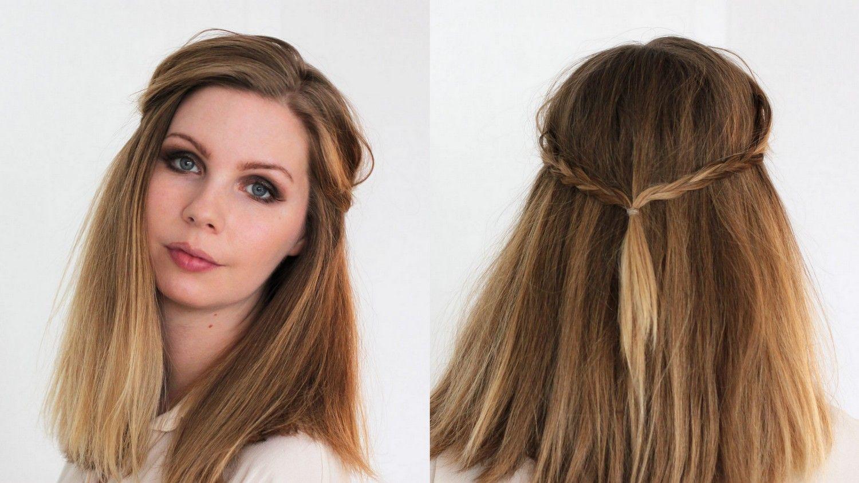 Long Bob 10 Schnelle Und Einfache Stylingvarianten Fur Schulterlange Haare Mit Bildern Frisuren Flechtfrisuren Dunnes Haar Frisuren Lang