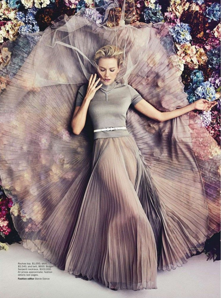 vogue australia 2013,naomi watts. the outfit is awesome.