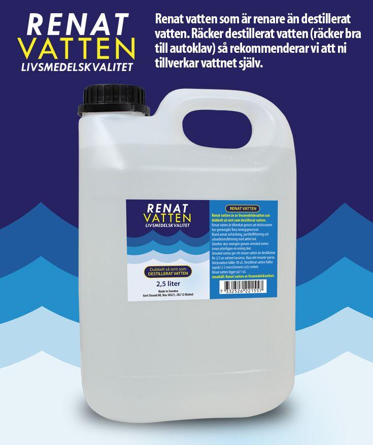 vad är destillerat vatten
