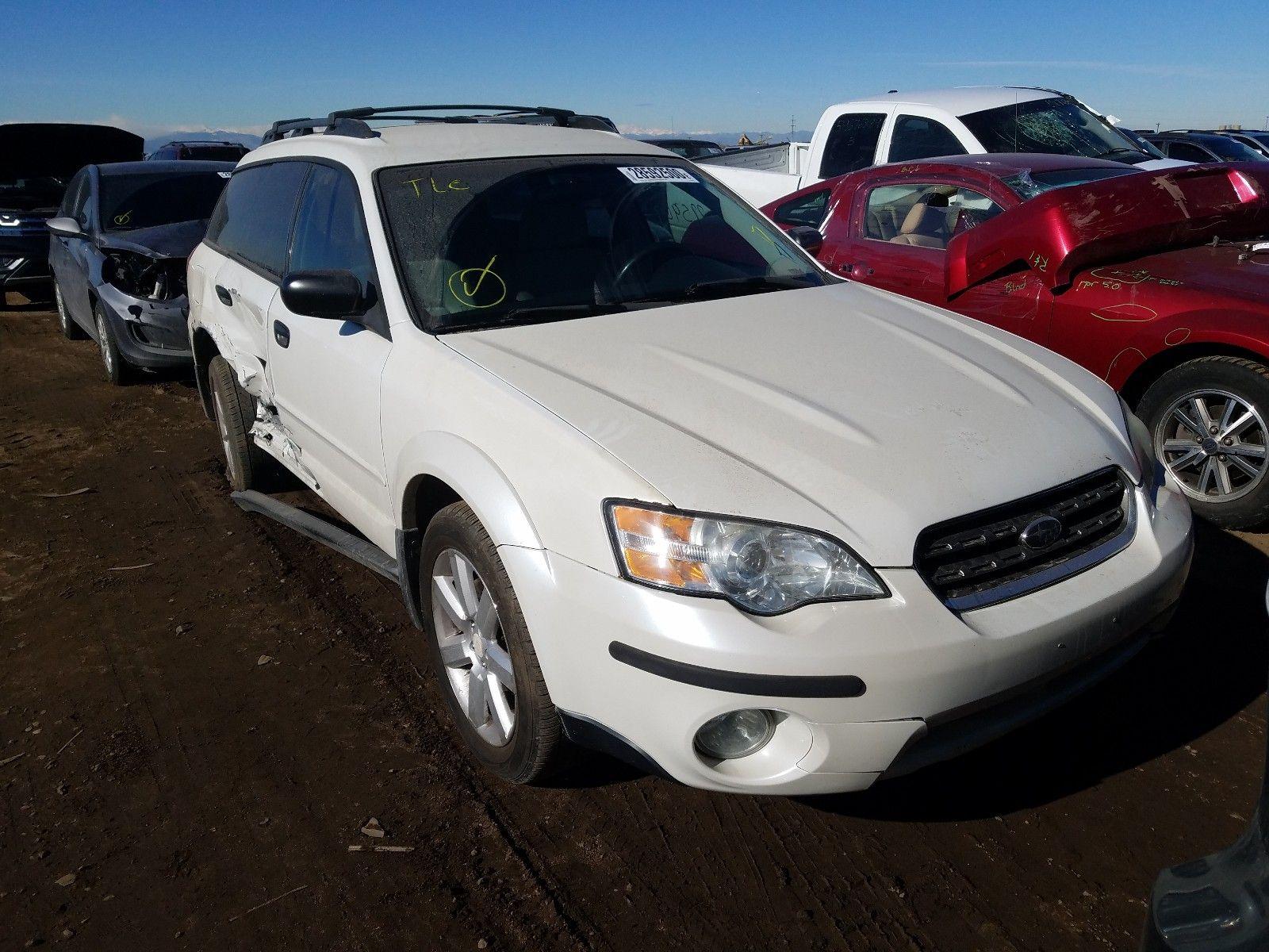 2006 Subaru Legacy Out 2 5l 4 Subaru Legacy Subaru Car Auctions