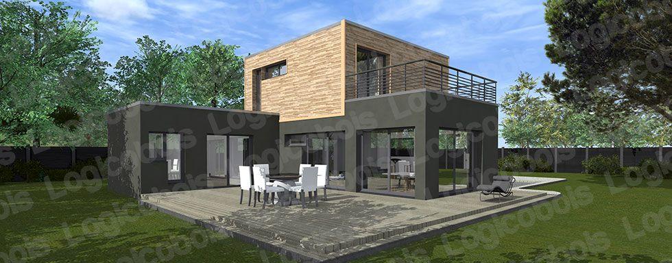 Modèle De Maison Cubique Melbourne 2 : Logicobois