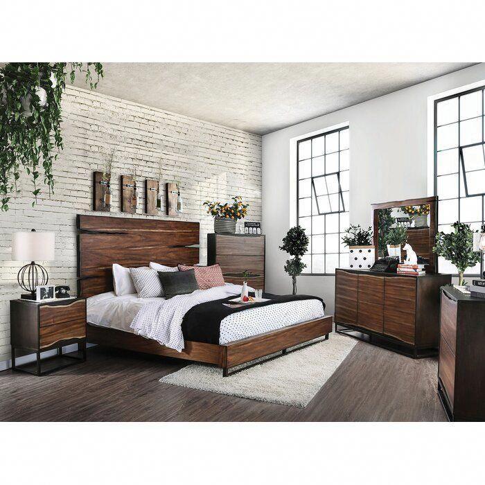 Josephus Standard Configurable Bedroom Set