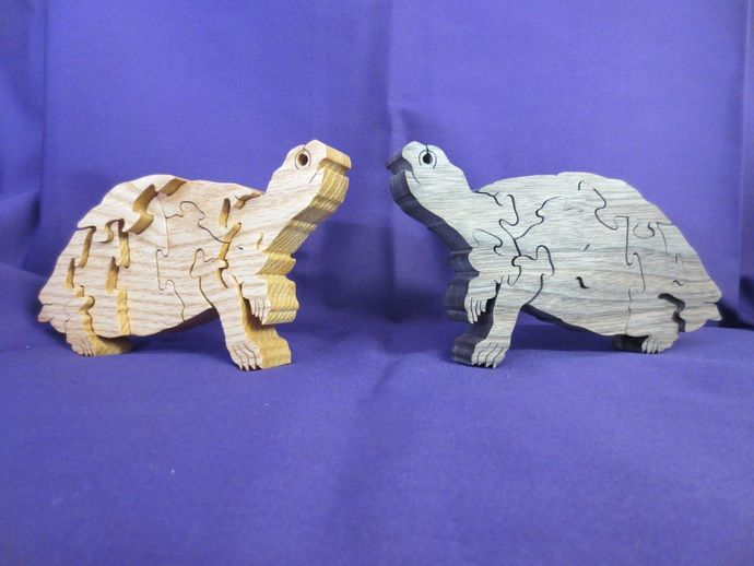 Wooden Turtle Puzzle by Don's Puzzles, $12.00 USD