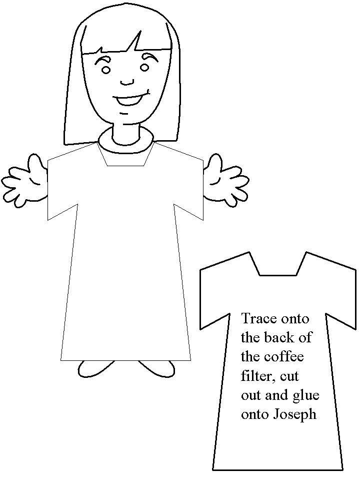 Josephs Coat Coloring Page Free Coloring Pages Children S