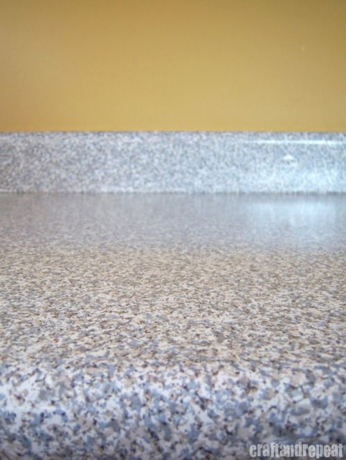 Six Dollar Counter Top Transformation... Granite Contact Paper From Home  Depot