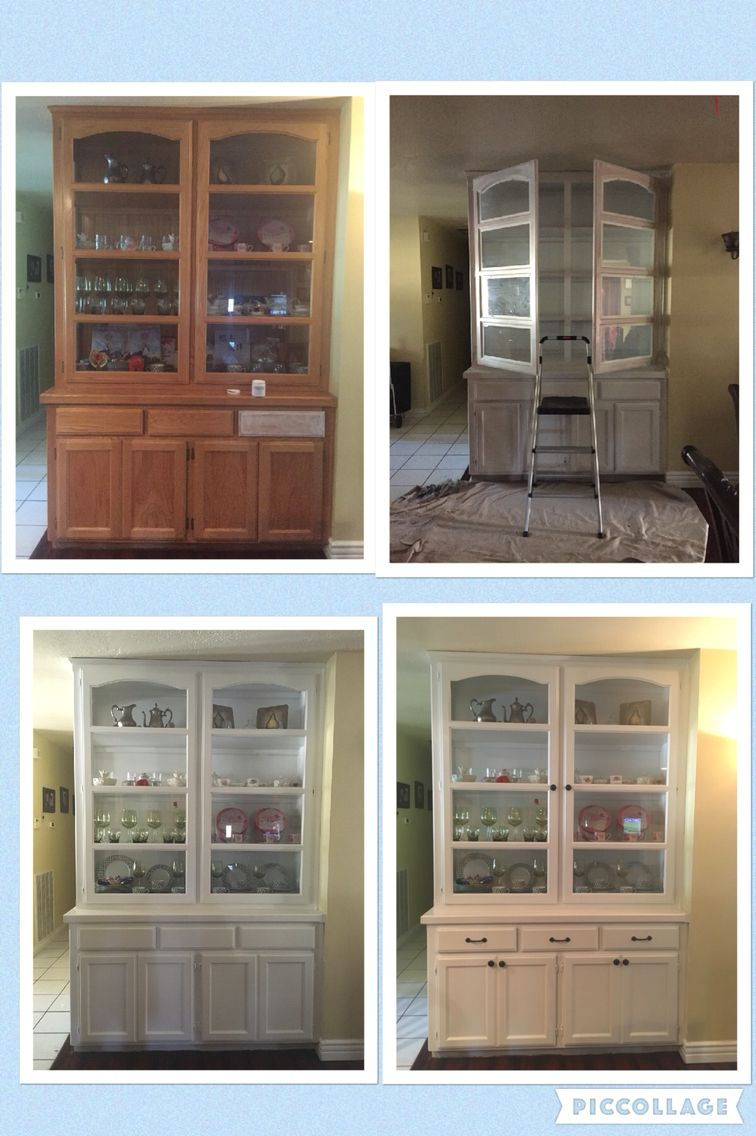 Before/After Wall Hutch