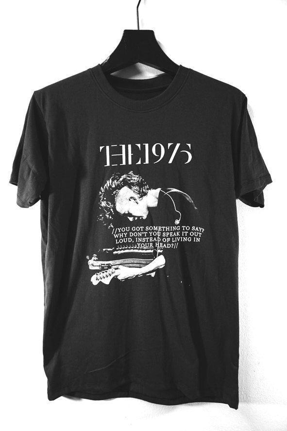 THE1975 T-SHIRT, alternative rock, classic rock, men and unisex tee by Knockrock on Etsy https://www.etsy.com/listing/211505029/the1975-t-shirt-alternative-rock-classic