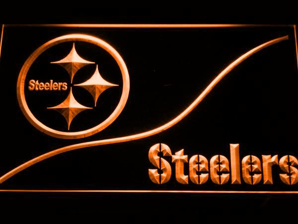 Pittsburgh Steelers Split LED Neon Sign