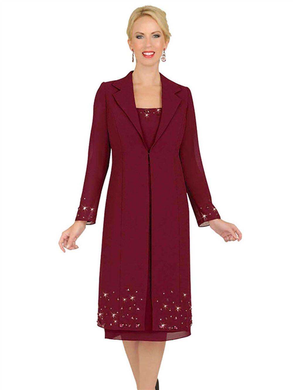 Misty Lane 13550 Mother of the Bride Formal Evening Coat Dress ...