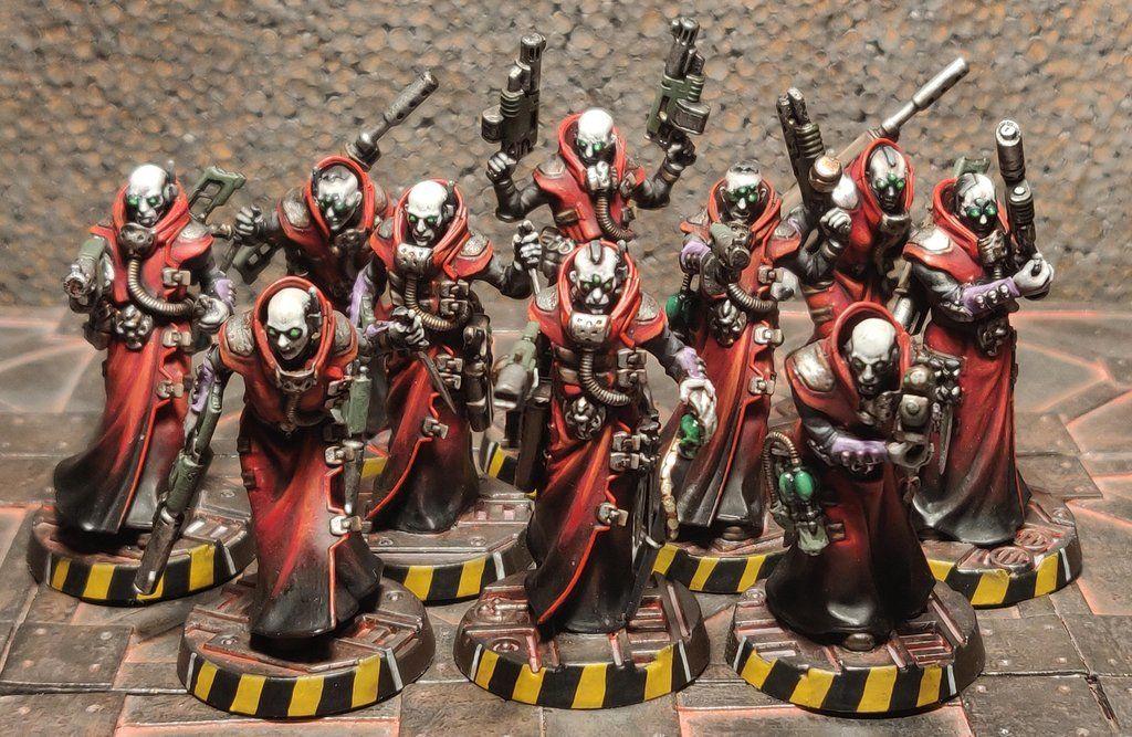 Just Got My New Delaque Gang Ready Necromunda