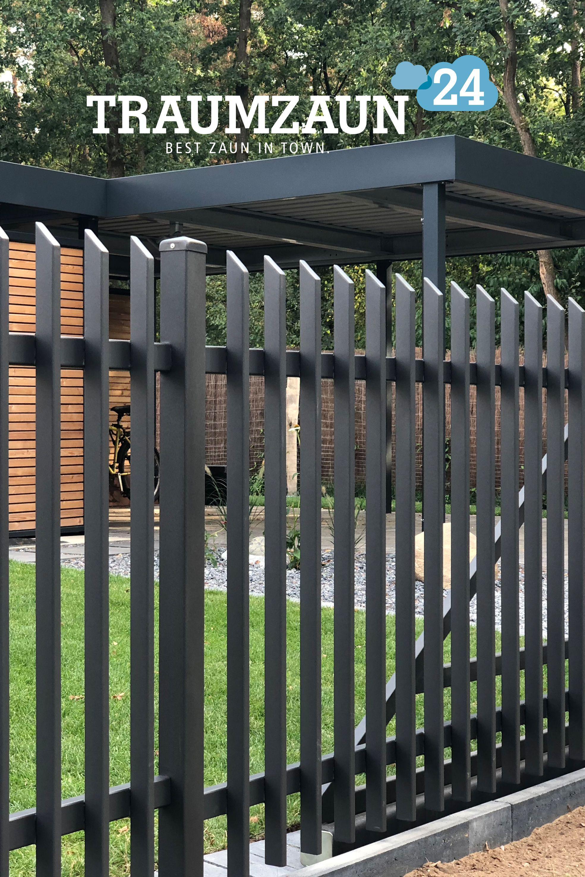 Garantierte Qualitat Denn Auf Den Zaun Acheron Geben Wir 10 Jahre Garantie Gegen Rost Nach Traumzaun24 Standard Zaun Gartenzaun Metall Gartenzaun
