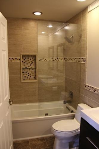Bath Remodel Bathtub Shower Combotile