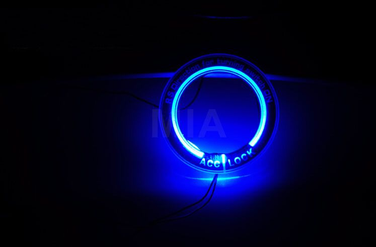 Car Light Led Ignition Switch Cover X2f Ring Key Ring Decoration Stickers For Ford Focus 2 X2f Focus 3 4 Mk3 Mk4 2005 201 Ford Focus Ford Focus 2 Car Lights