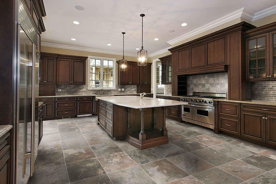 Large Floor Tiles For Kitchen 17 Best Images About Trying To Find Gray Tile Pattern Kitchen