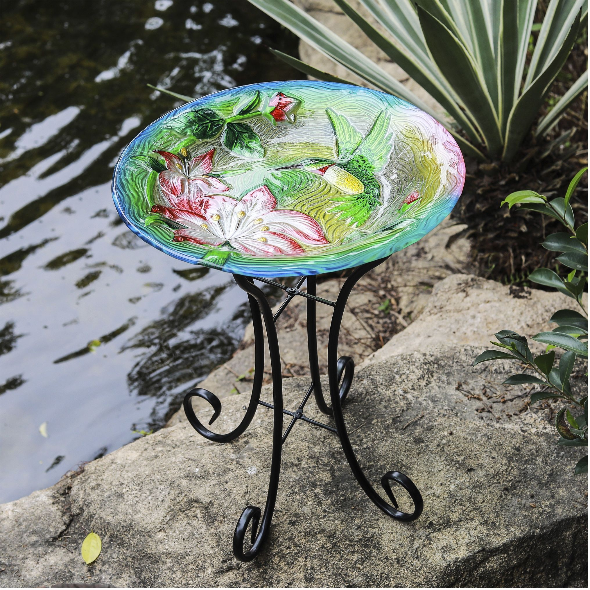 Online Shopping Bedding Furniture Electronics Jewelry Clothing More Hummingbird Bird Bath Glass Bird Bath Bird Bath Garden
