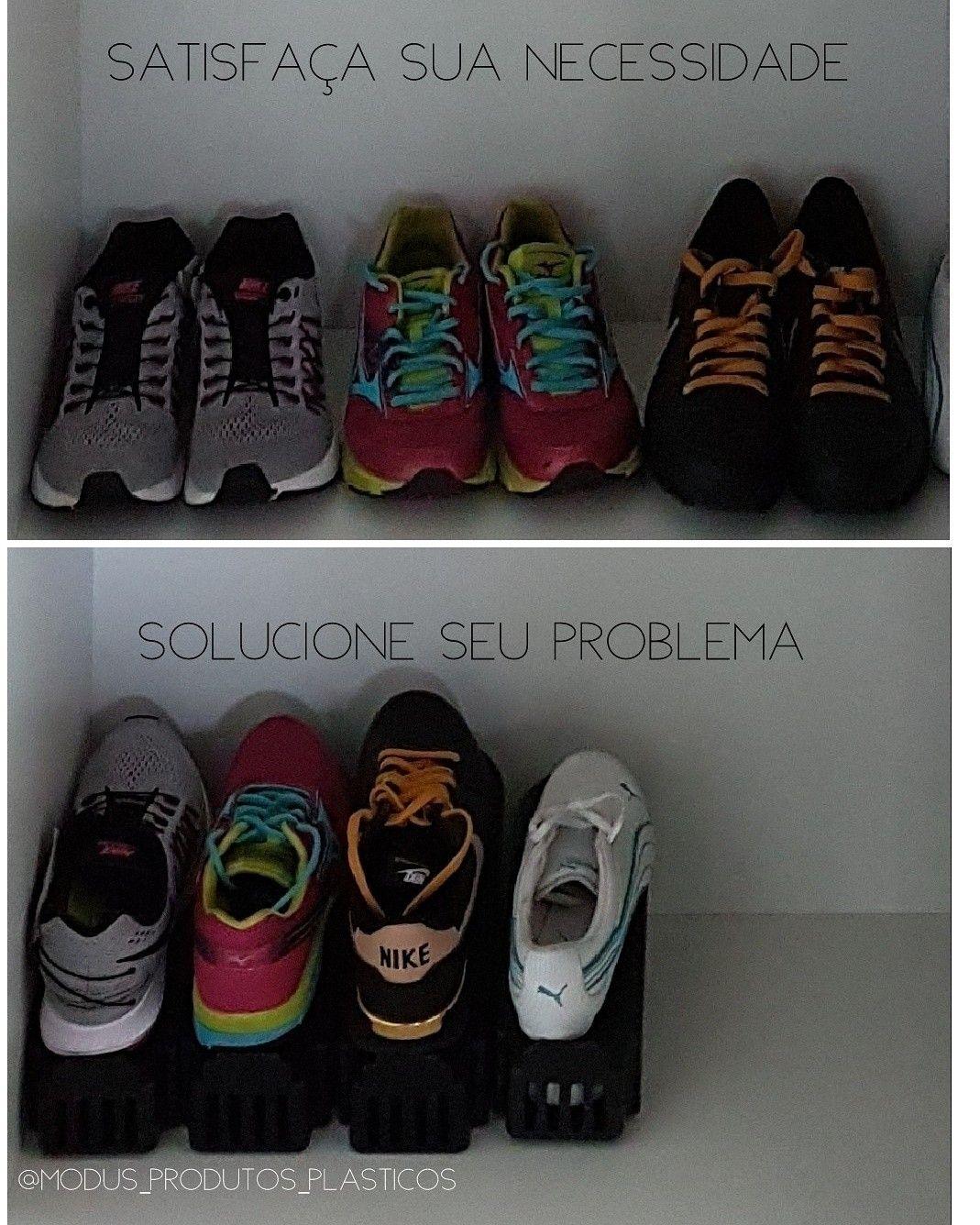 Suporte organizador de sapatos   Suporte organizador de sapatos