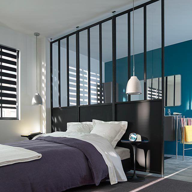 diy ma verri re d 39 int rieur esprit atelier d 39 artiste fait maison verri re fait maison et. Black Bedroom Furniture Sets. Home Design Ideas