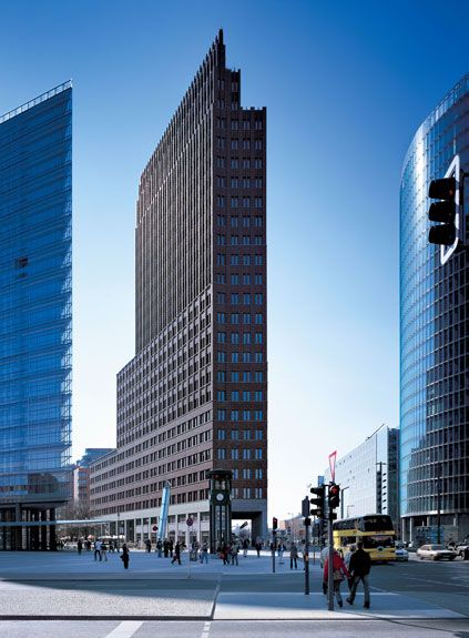 Prof Hans Kollhoff Architekten Skyscraper Architecture Skyscraper Rationalism Architecture
