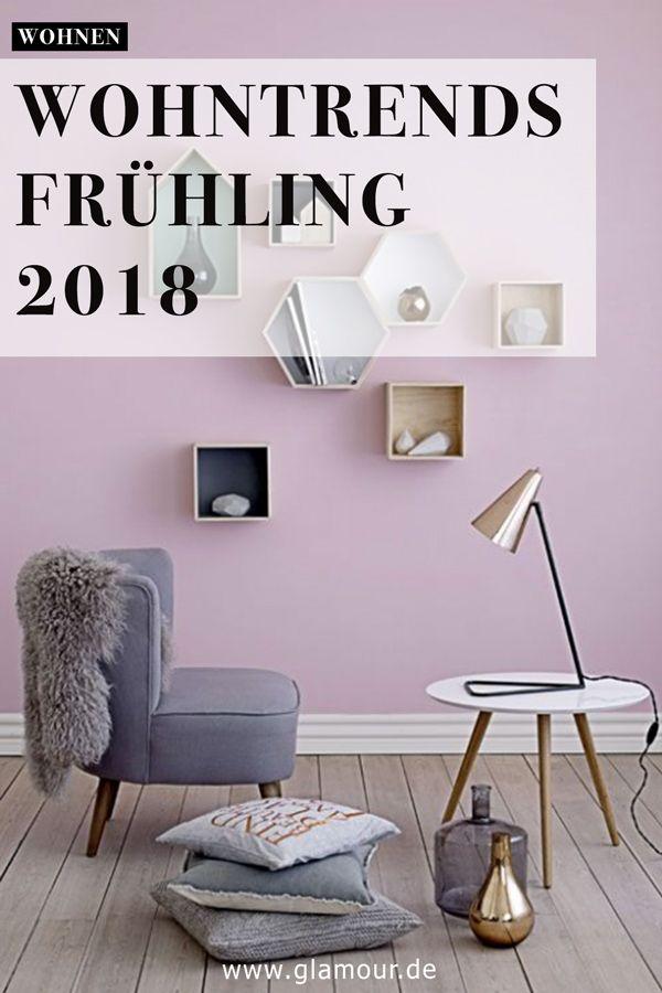 Wohntrends Frühling Ideen + Bilder Zimmer streichen