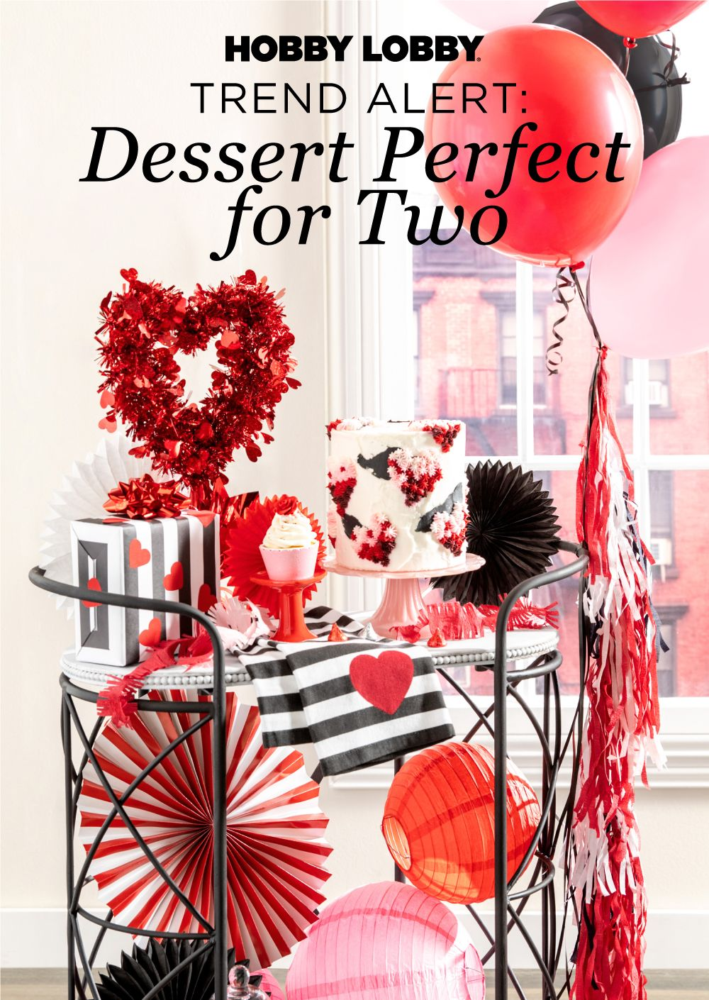 Create A Dessert Cart Perfect For Sharing With Your Loved One In