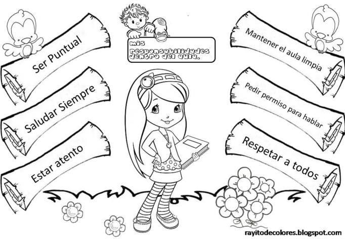 Resultado de imagen para deberes de los niños para colorear   taller ...