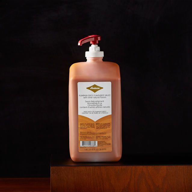 A+pump+of+rich,+spicy-sweet+pumpkin+sauce+turns+your