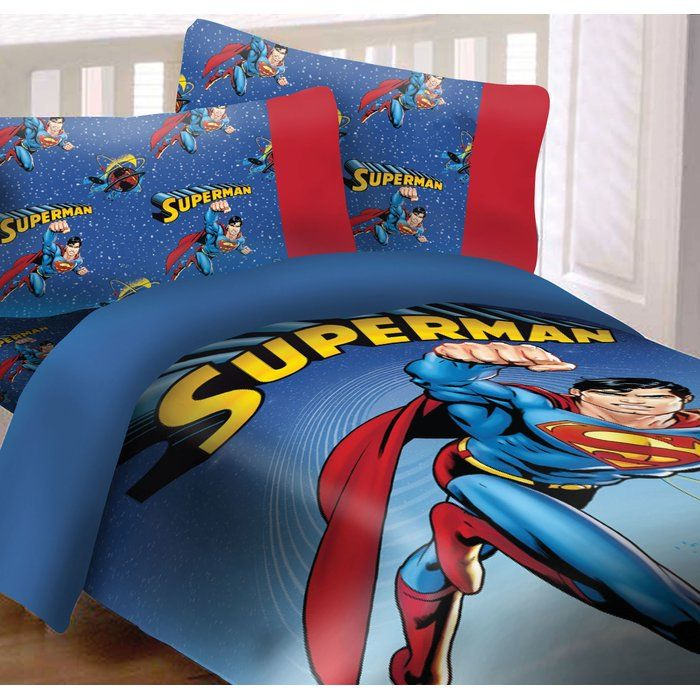 Superman Universe Comforter Set Luxury Comforter Sets Comforter