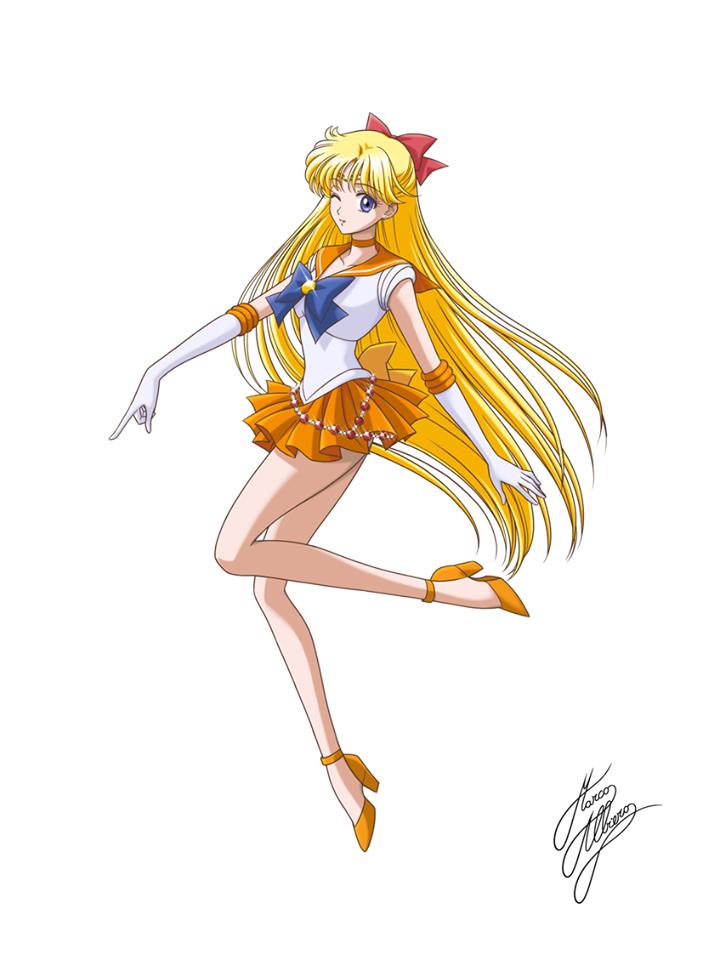 Marco Albiero World Of Eternal Sailor Moon Sailor Venus Sailor Moon Usagi Sailor Moom