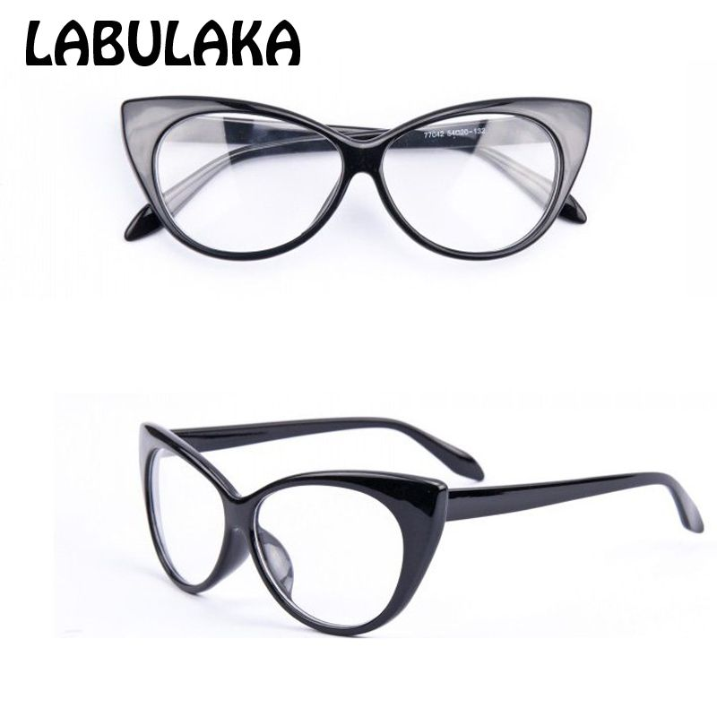 2017 marke new designer cat brillen frauen gafas retro fashion black ...