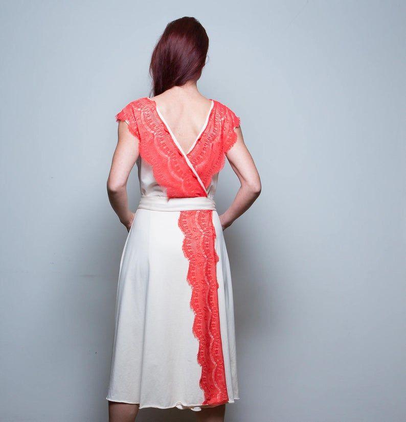 Kleid Jolie Wickelkleid 95 Baumwolle 5 Elasthan In 2020 Festival Kleid Boho Kleid Sommerkleid