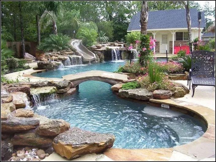Pin By Belladawna Esthetic Artistry On Swimming Pool Desaign Swimming Pools Backyard Backyard Pool Dream Backyard