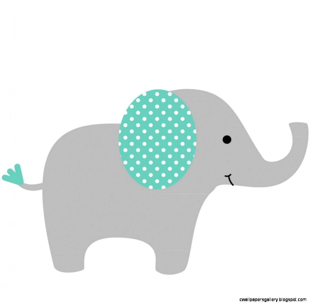 Nursery Elephant Clip Art   Mirella & Alex Bby Shower   Pinterest ...
