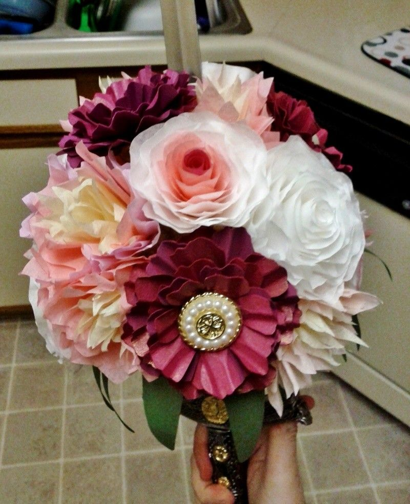 How To Make Multi Layered Paper Flowers By Hand Flower Flowers